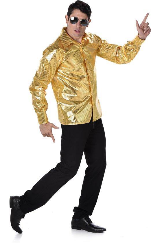 Regenboog disco blouse voor volwassenen Volwassenen kostuums