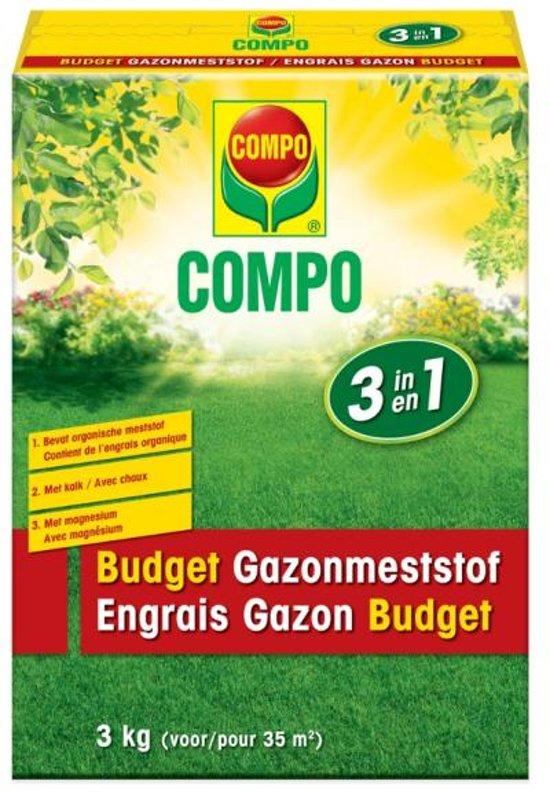 Gazon budget meststof 3 in 1