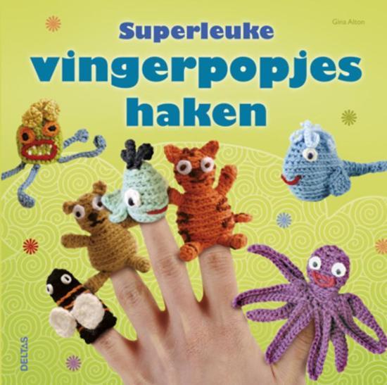Bolcom Superleuke Vingerpoppetjes Haken Gina Alton