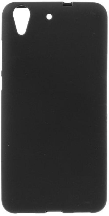 Huawei Y6 II   Honor 5A TPU Hoesje Flexibel Zwart Mat