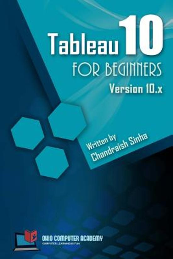 Tableau 10 for Beginners