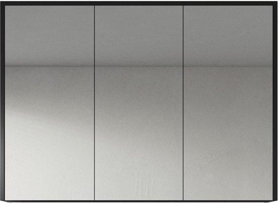 Spiegelkast cuba 900 x 170 x 700mm zwart kopen voor badkamer van badplaats vergelijk prijzen - Badkamer badplaats ...
