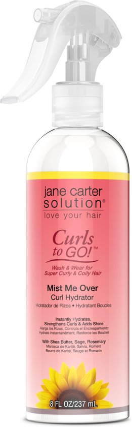 Jane Carter Solution Curls to Go Mist Me Over Curl Hydrator 237 ml