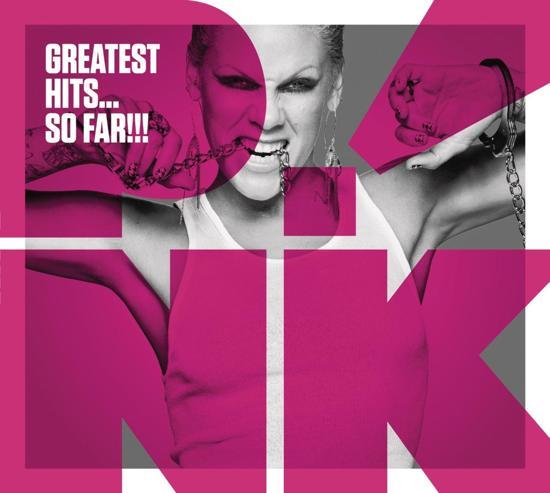 CD cover van Greatest Hits... So Far!!! van Pink