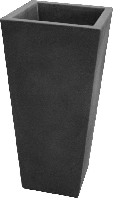 Hoge Bloempotten Voor Binnen.Bol Com Veca Hoge Plantenbak Genesis Vierkant 100 Cm Hoog Mat