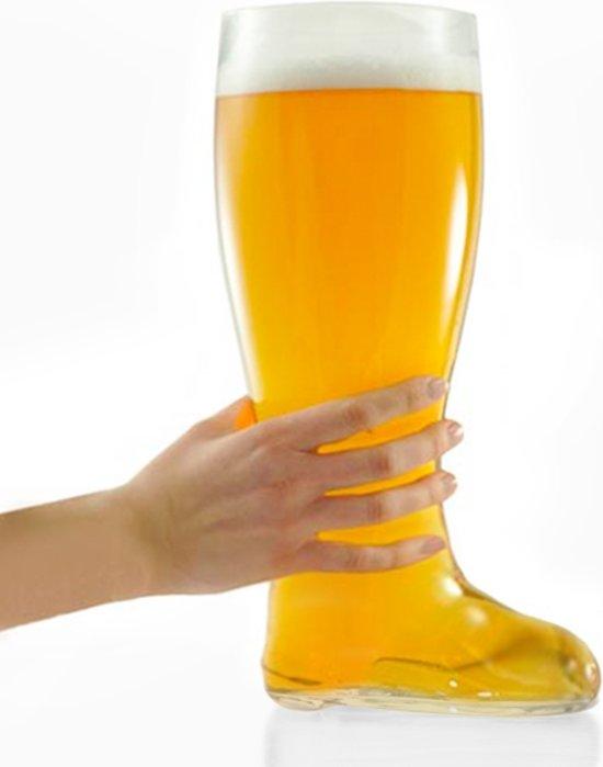 bol.com | XXL Bierglas Laars 2 liter