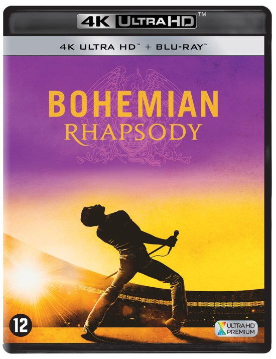 DVD cover van Bohemian Rhapsody (4K Ultra HD Blu-ray)
