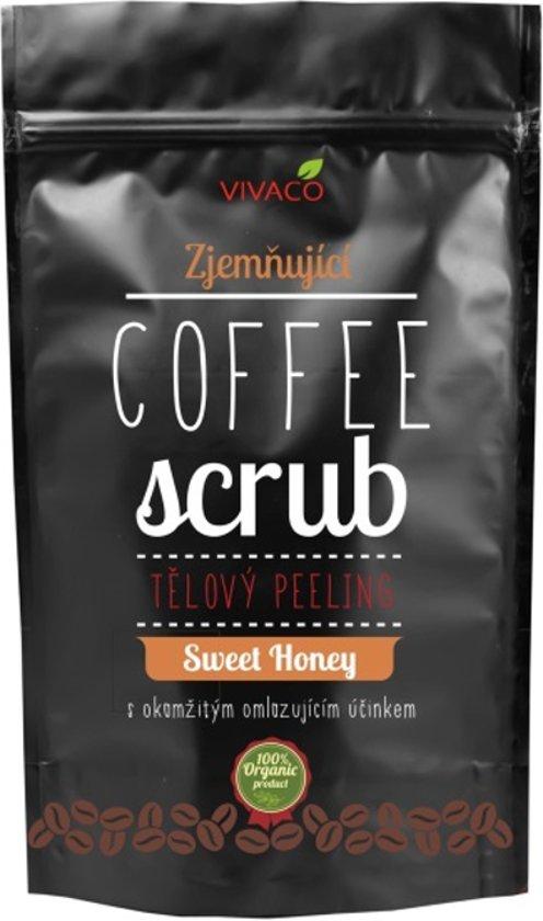 Coffee Scrub met Honing (100% organisch) -200g