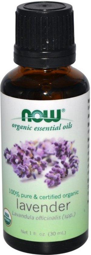 Biologische etherische olie Lavendel (30 ml) - Now Foods