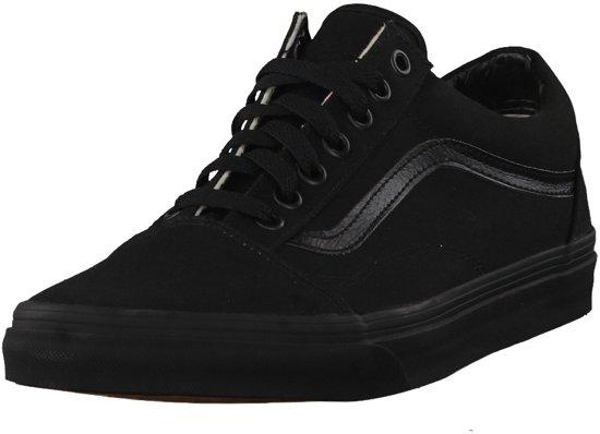 Vans Old Skool Sneakers Unisex - Black/Black - Maat 38,5