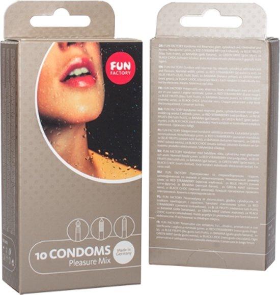 Pleasure Mix Condooms - 10 Stuks
