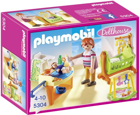 PLAYMOBIL Babykamer met wieg - 5304