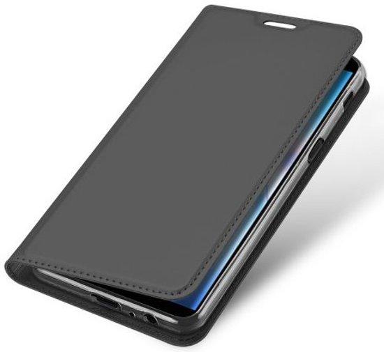 Portemonnee Hoesje Samsung Galaxy J6 Plus 2018 Black