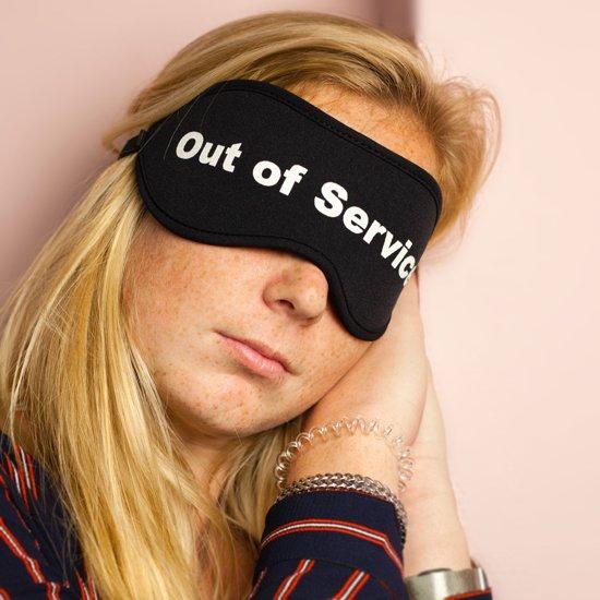 Invotis Out of Service slaapmasker