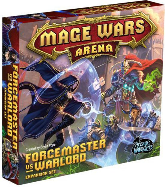 Mage Wars Forcemaster vs Warlord Expansion