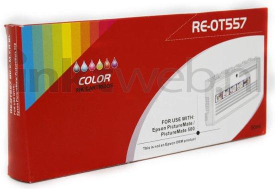 Bolcom Inktweb Huismerk T557 Picturepack Zwart En Kleur