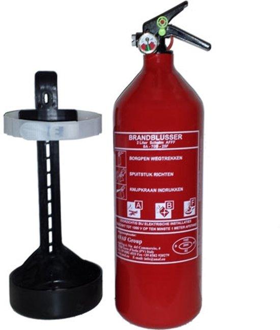 Brandblusser, Schuimblusser, 2 liter A, B en F ( Vet ) (inclusief 1 jaar keuring)