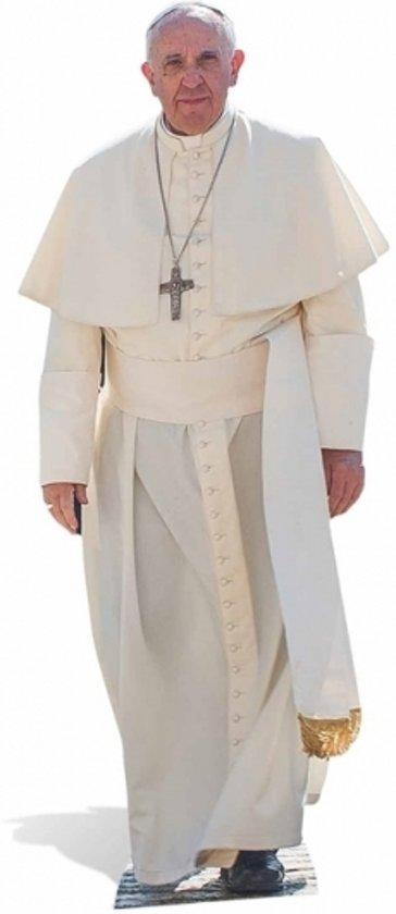Groot decoratie bord Paus Franciscus