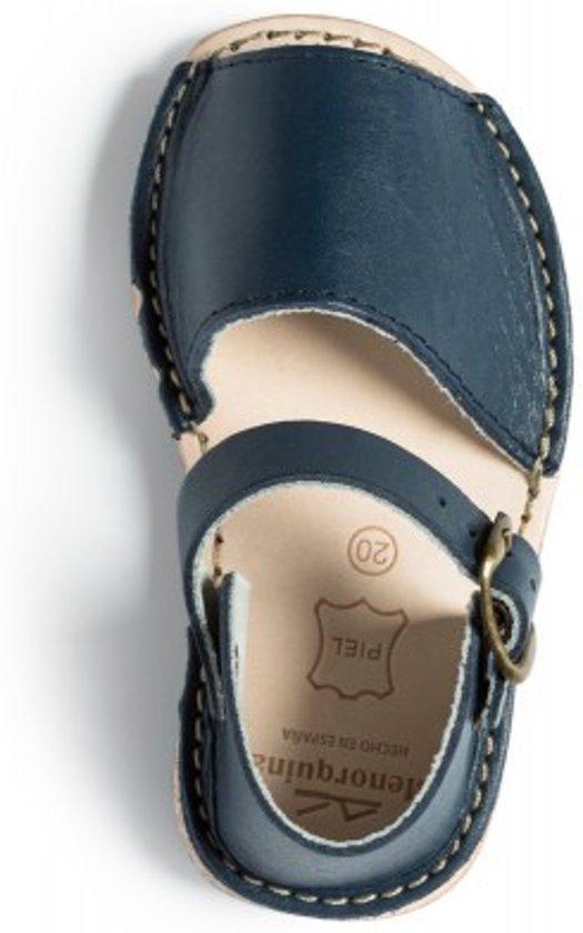 Menorquina-espagnol-sandales-avarca Sangle Talon Panthère Enfant Taille 20 GR1m3