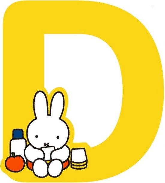 """Nijntje houten letter """"D"""""""