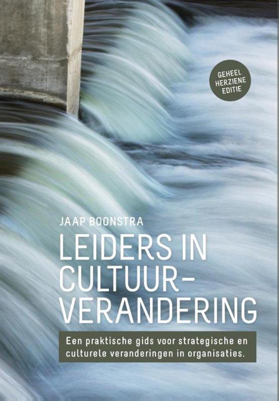 Afbeelding van Leiders in cultuurverandering