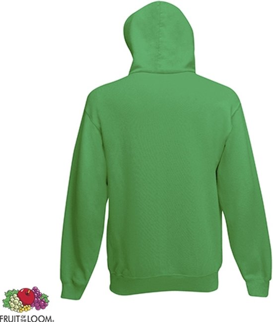 L The Of Maat Fruit Loom Capuchon Hoodie Kelly Green Dubbellaagse R4jL35A