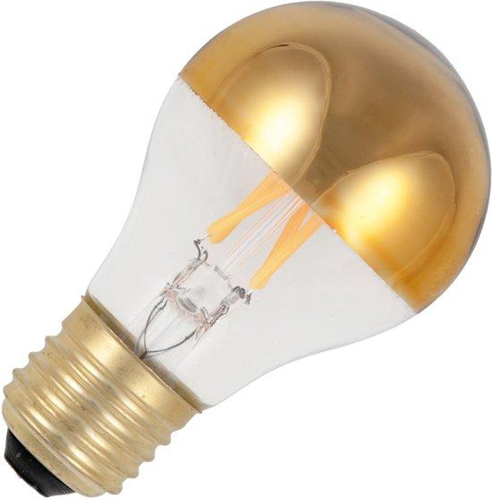 SPL LED Filament Kopspiegellamp -4W / DIMBAAR goud