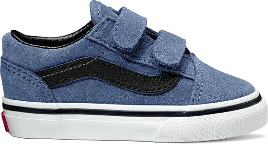 801e6c7142e bol.com | Vans Td Old Skool V Sneakers Unisex - Suede Grisaille/Black