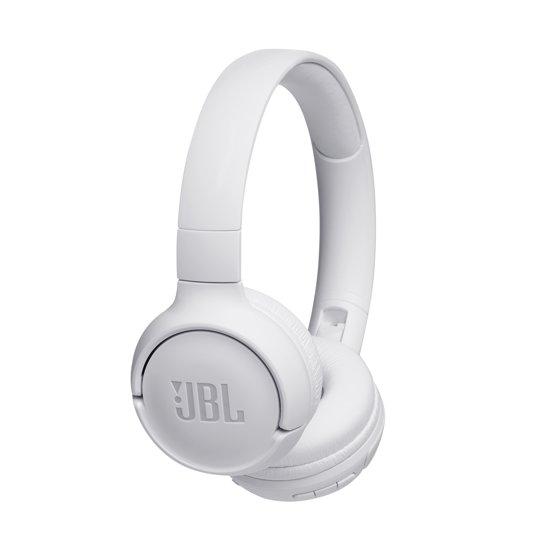 JBL T500BT - Draadloze on-ear koptelefoon - Wit