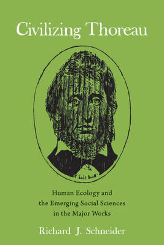 henry d thoreau s views nature society and man