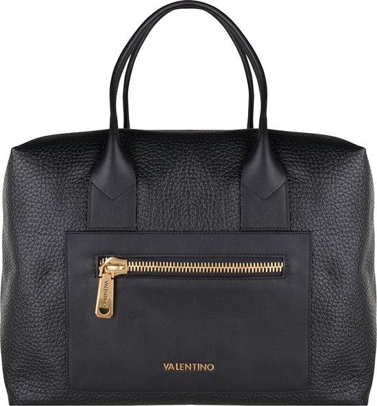 Valentino Zippa Handtas leer - Zwart