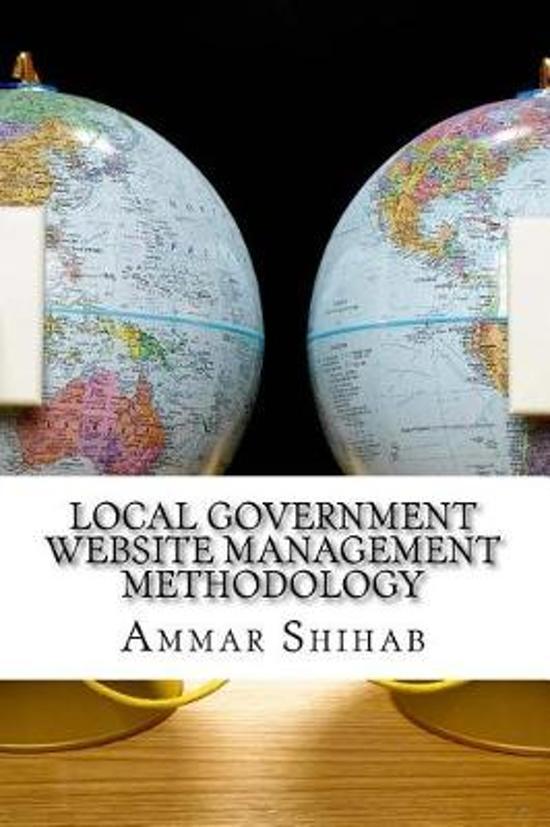 Local Government Website Management Methodology
