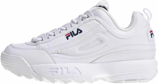 White 37 Disruptor Fila Maat Valt Sneaker Klein XHXw8Yq