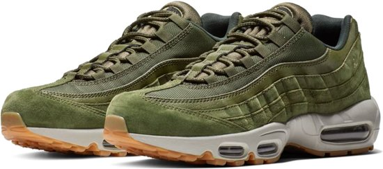 96ad00a57c7 bol.com | Nike Air Max 95 SE Sneakers - Maat 43 - Mannen - groen/wit