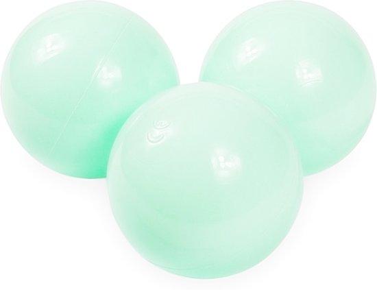 Ballenbak ballen licht mint (70mm) voor ballenbak 100 stuks