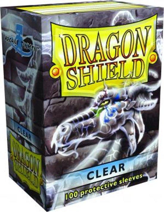 Afbeelding van het spel Dragon Shield 100 Box Clear (100st)