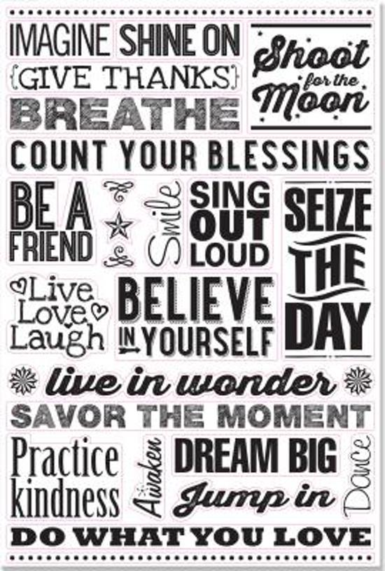 Bolcom Believe In Yourself Peel Stick Wall Decal Set 27