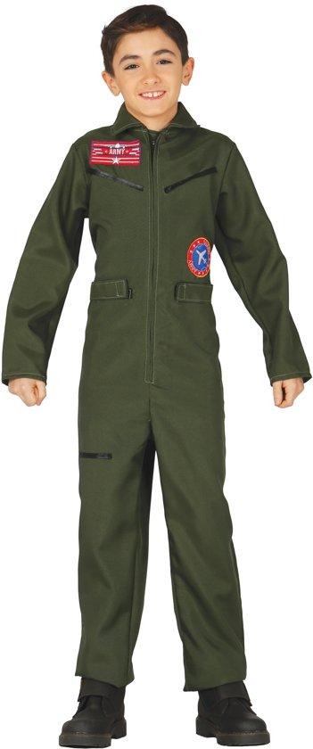 Luchtpiloot kostuum voor jongens - Verkleedkleding - Maat 122/134