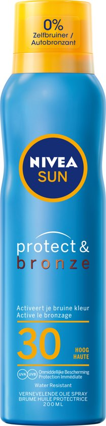 NIVEA SUN Protect & Bronze Zonnespray - SPF 30 - 200 ml