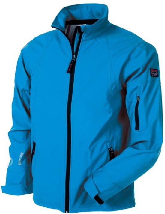 Highcamp Softshell jas blauw maat m