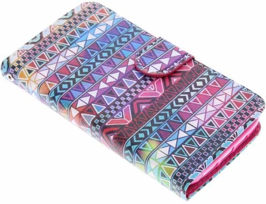 Aztec Conception Booktype Case Tpu Pour Samsung Galaxy S6 wxFJQcG