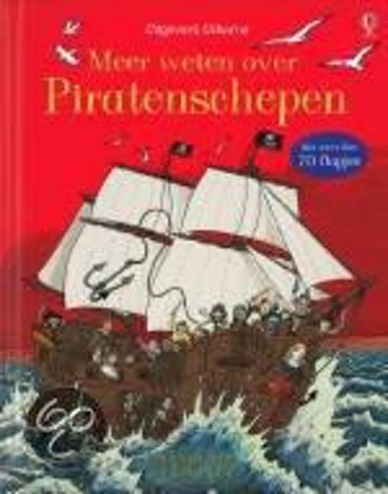 Boek cover Meer weten over piratenschepen van R. Lloyd Jones (Hardcover)