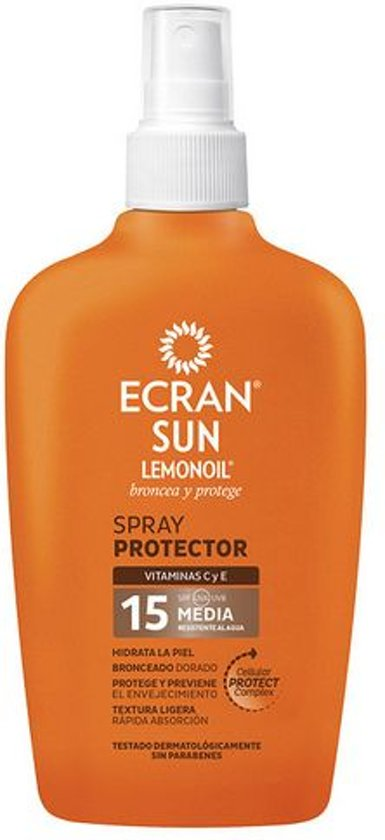 Ecran Lemonoil Carrot Sun Milk Orange - SPF 15 - 200 ml - Zonnebrandspray