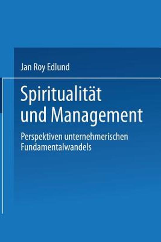 Spiritualit t Und Management