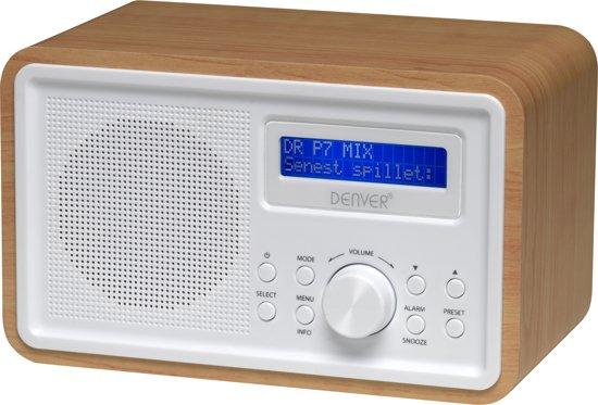 Af modish bol.com | Denver DAB-35 - DAB+ Digital radio - Hout UC88