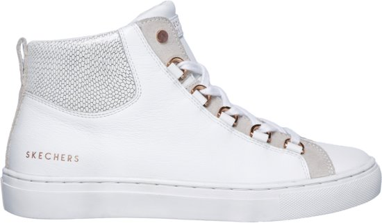 666d220a487f91 bol.com | Skechers Side Street-Core-Set Hi Sneakers Dames - White