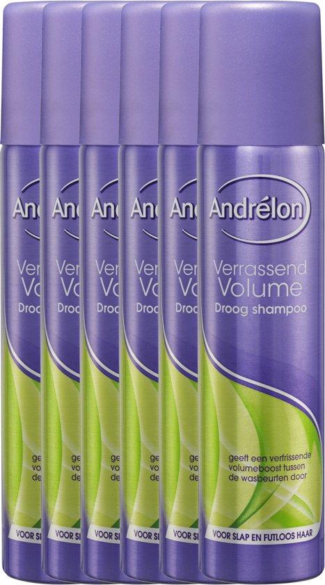 Andrélon Verrassend Volume - 6 x 100 ml - Droogshampoo - Voordeelverpakking