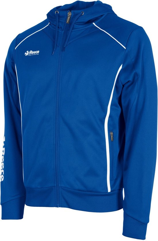 Reece Core TTS Hooded FZ  Trainingsjas - Maat 140  - Unisex - blauw