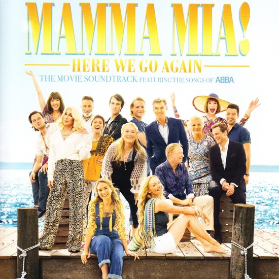 CD cover van Mamma Mia! Here We Go Again - The Movie Soundtrack van Cast Of Mamma Mia! Here We Go Ag