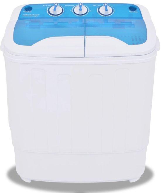 vidaXL Mini wasmachine met dubbele trommel 5.6 kg